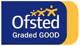 Ofsted logo with rating of good at 2019